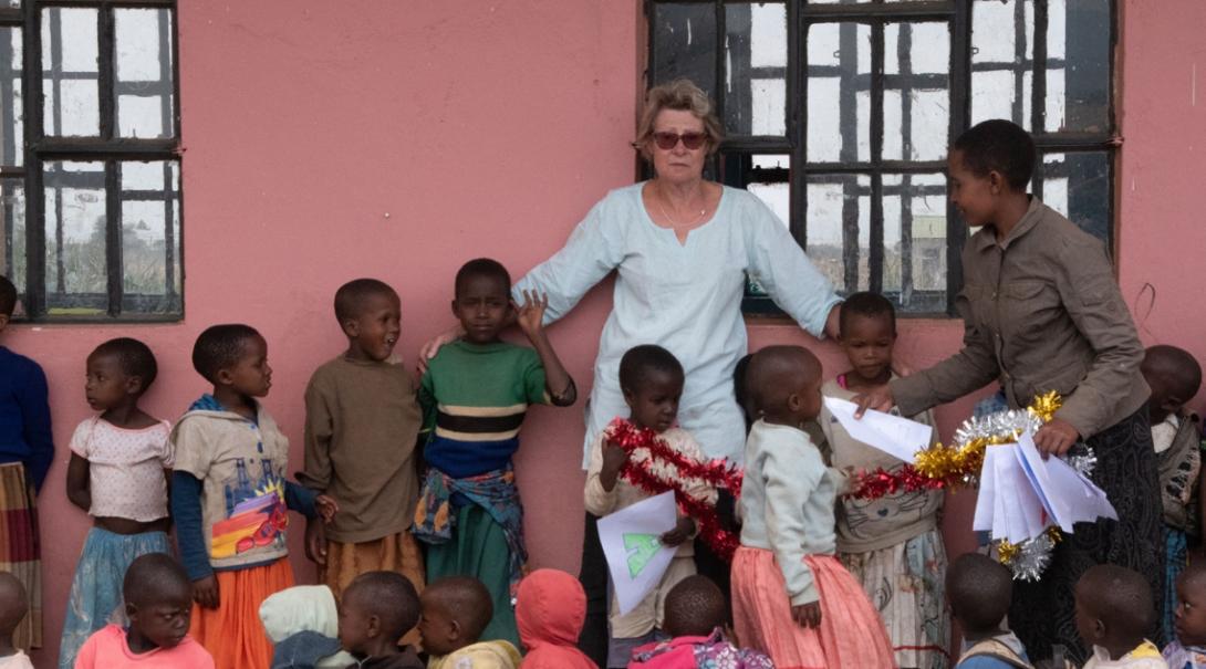 Kathryn C in Tanzania